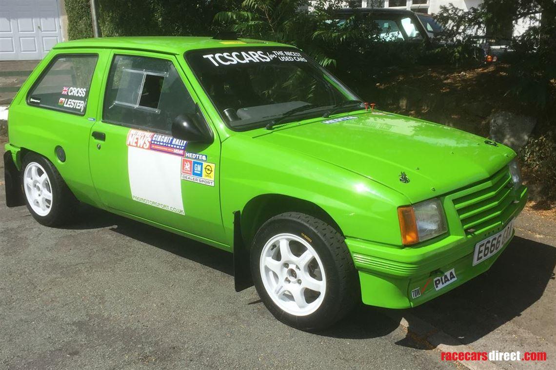 Racecarsdirect.com - Vauxhall Nova Tarmac Rally Car