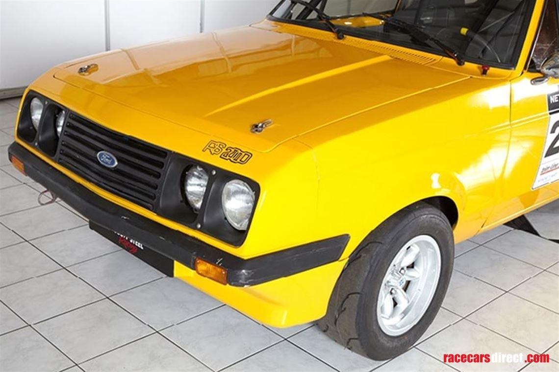Ford Escort Mk2 Grp 4 Rally Car: Ford Escort RS2000 Mk2 1979 Group N