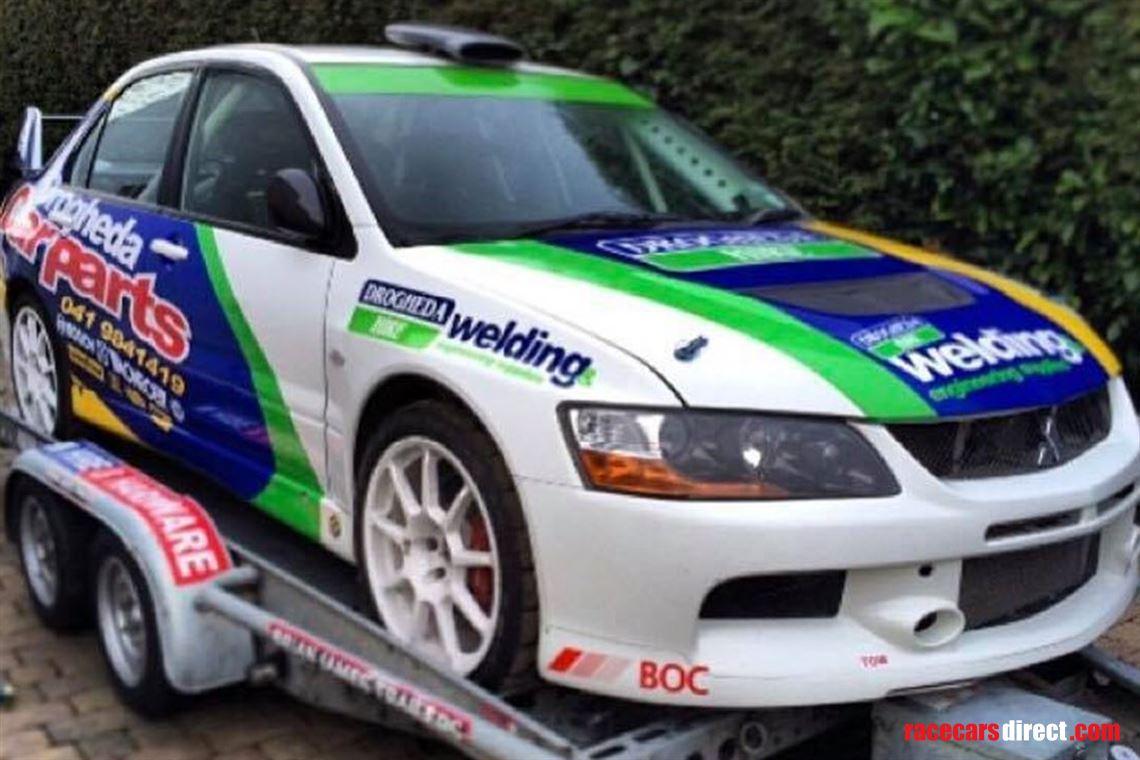 Racecarsdirect Com Mitsubishi Evo 9 Rally Car
