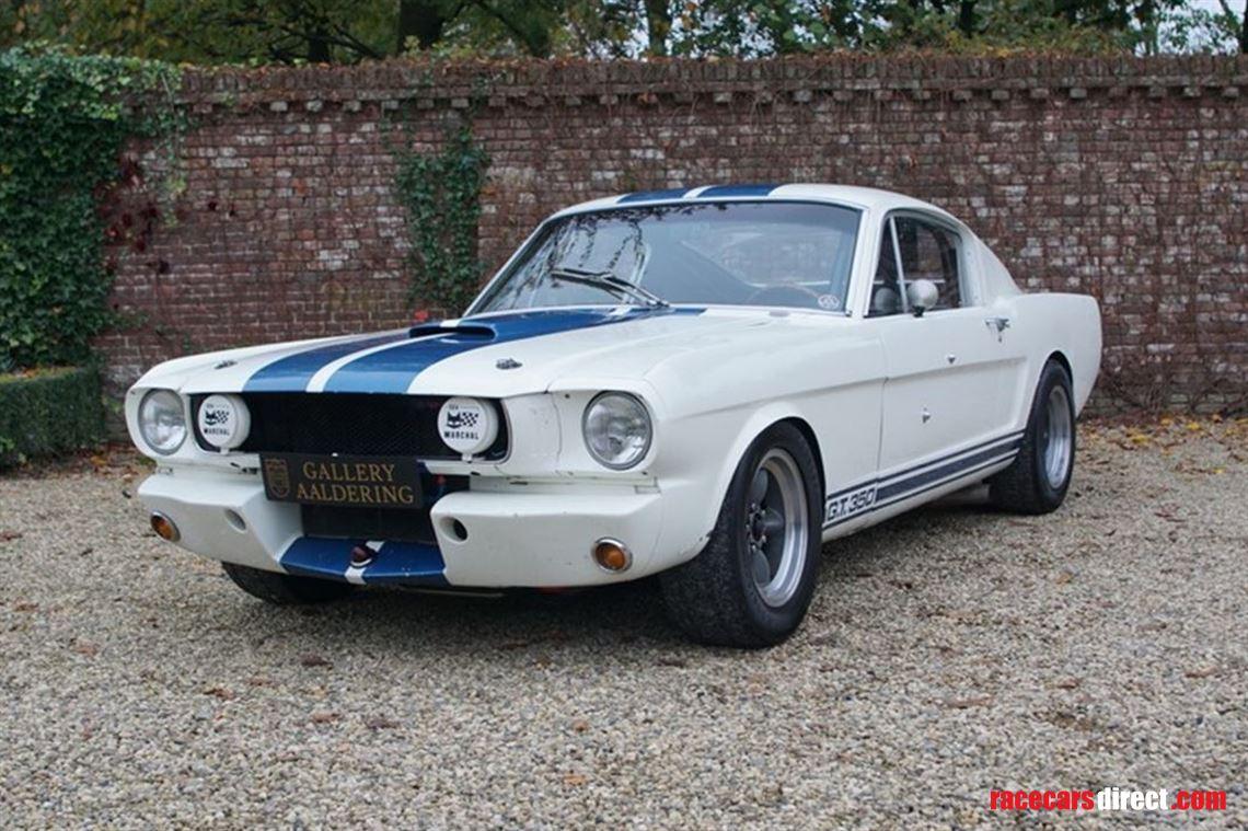 Ford mustang gt 350 h shelby hertz race