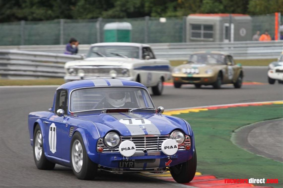 Racecarsdirectcom Spa 6hr Entries Open 1962 Triumph Tr4 Fia