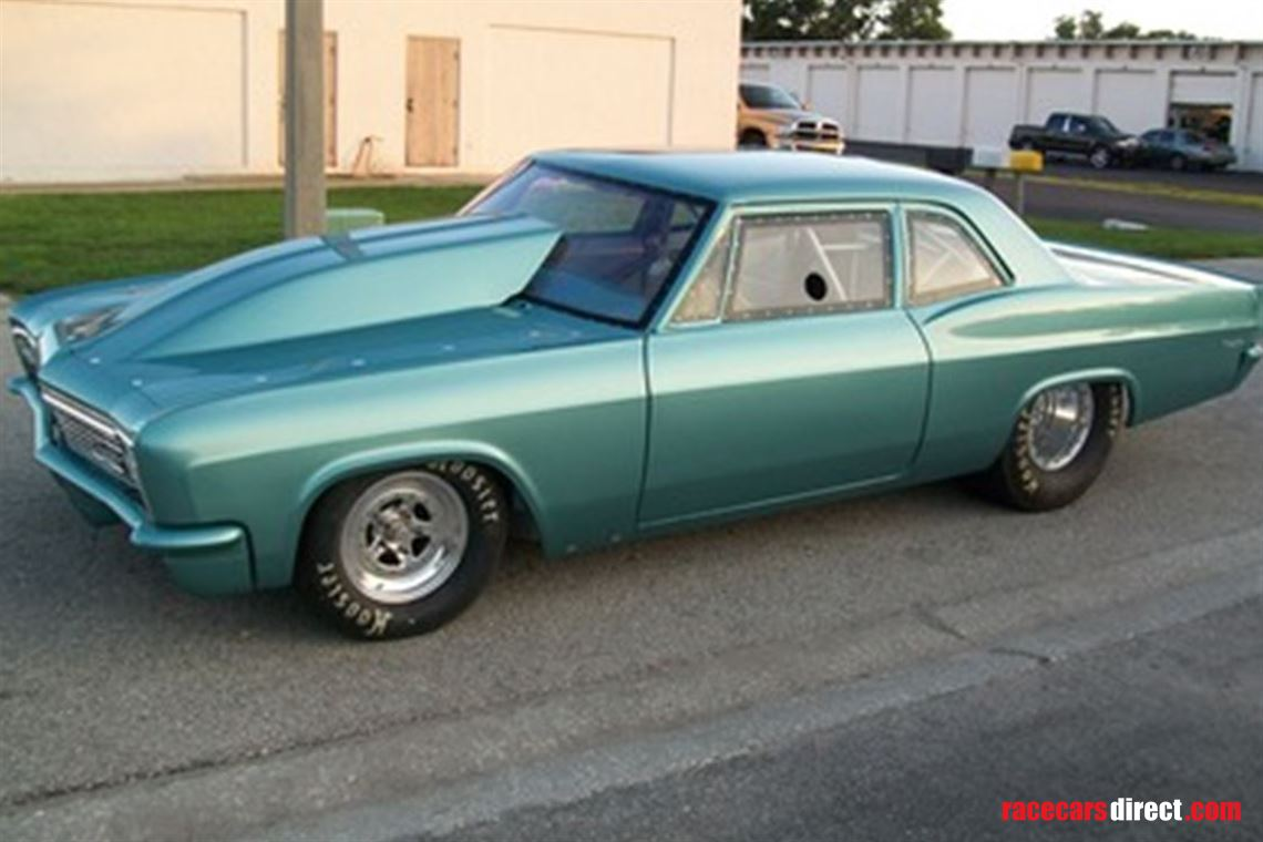 Racecarsdirect.com - 1966 Chevy Biscayne (Drag Race Car)