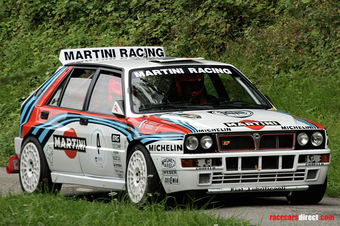 racecarsdirect - 1990 lancia delta integrale ex auriol