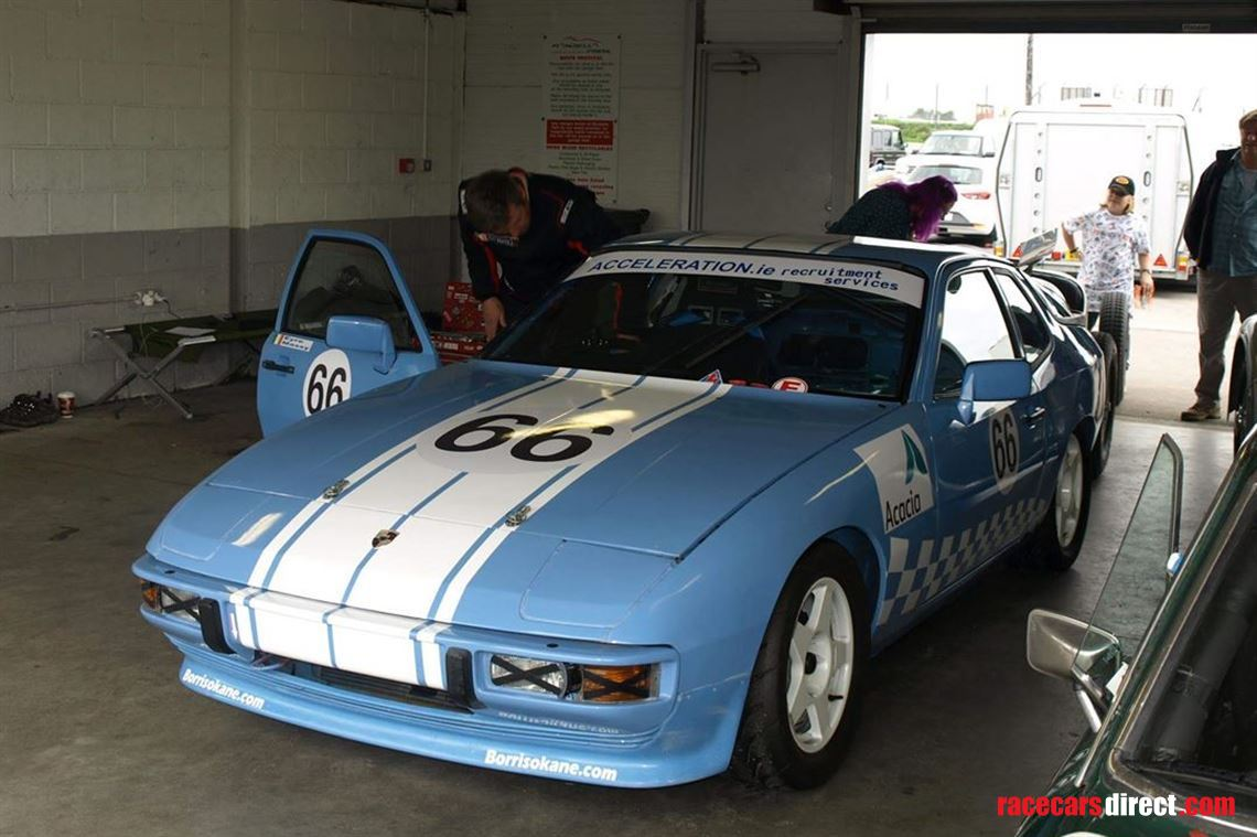 Porsche 924 1980 Race Car Hscc Cscc Brscc Not Carrying The Gt4 Suspension Whether Disc Or Drum On Rear Championship