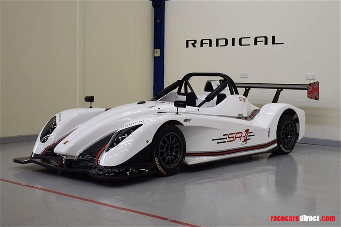 Racecarsdirect com - 2018 SR1 Cup, White
