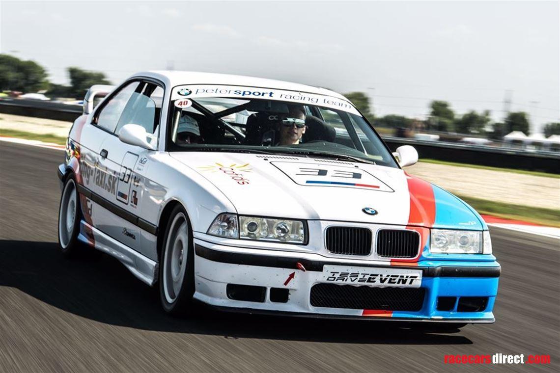 Racecarsdirect Com Bmw M3 Cs E36 3 0 Gruppen For Sale Tracktool Kw Susp
