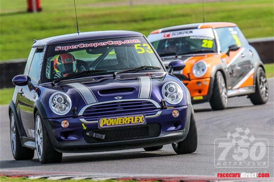Racecarsdirect Com Mini Cooper S R53 Race Track Car
