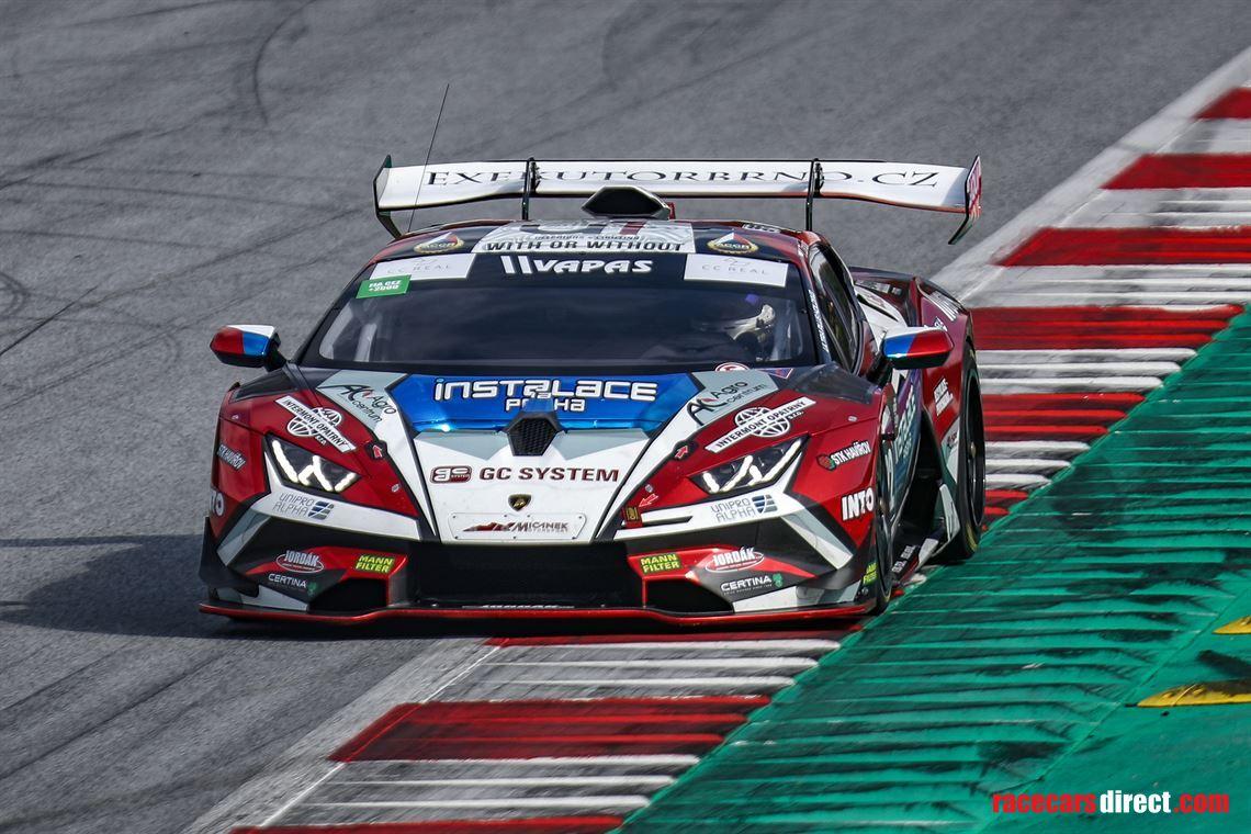 Racecarsdirect Com Lamborghini Huracan Super Trofeo Evo M Y 2018