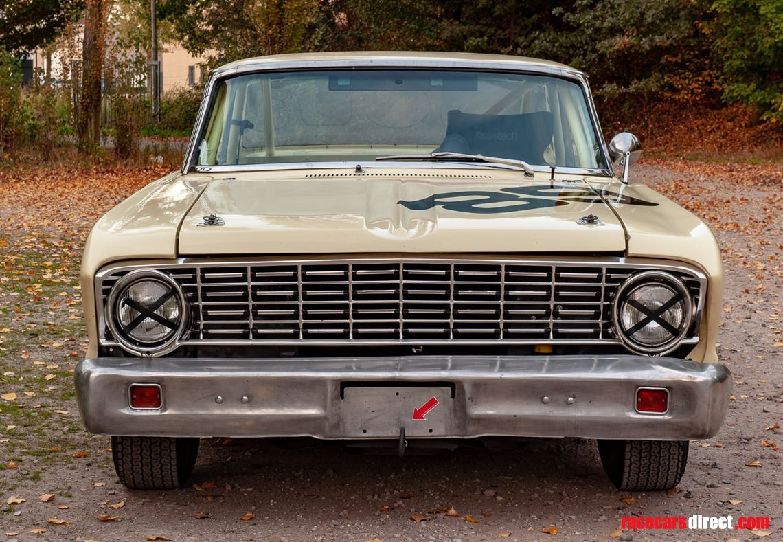 Racecarsdirect.com - 1964 Ford Falcon Sprint rebuilt for ...