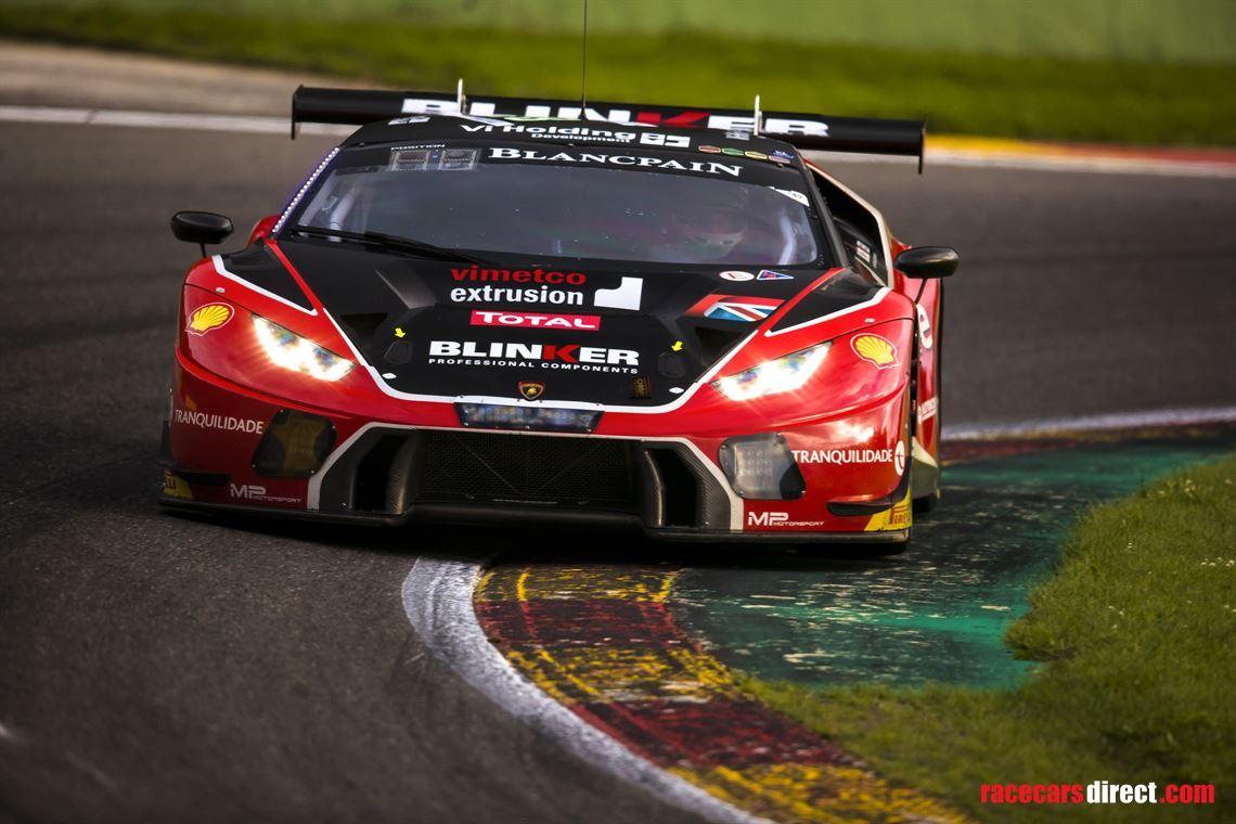 Racecarsdirect Com 2x Lamborghini Huracan Gt3 Race Cars