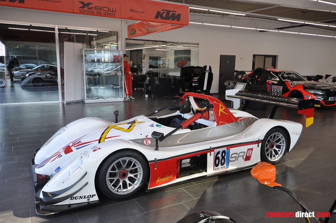 Racecarsdirect com - Radical SR8 LM, Nordschleife record holder on sale!