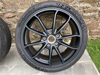 porsche-cayman-gt4-front-wheels-genuine-porsc